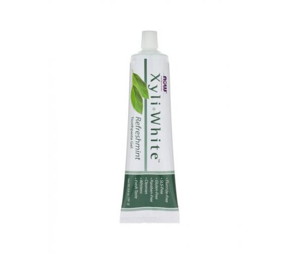 Зубная гель-паста XyliWhite Now Foods со вкусом освежающей мяты 181 г