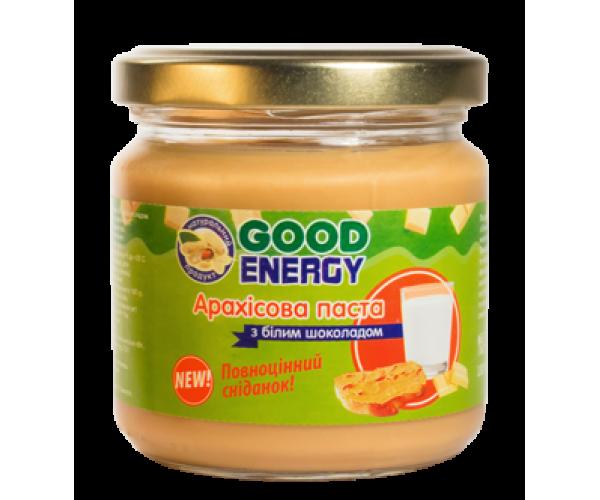 Арахисовая паста с белым шоколадом Good Energy