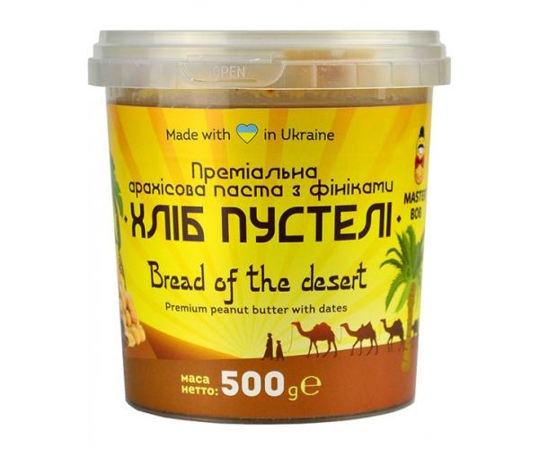 Арахисовая паста Master BOB Хлеб пустыни с финиками 500 г