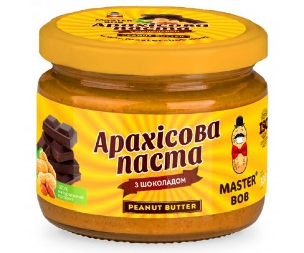 Арахисовая паста с шоколадом Master BOB