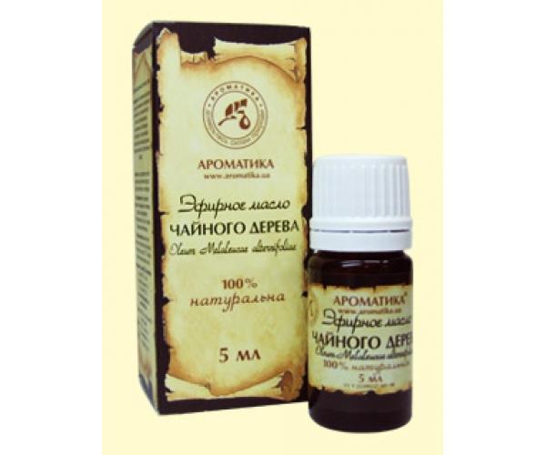 Чайного дерева эфирное масло Ароматика 5 мл