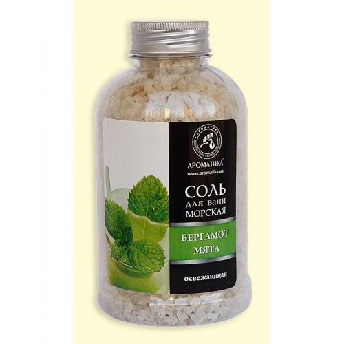 Морская соль освежающая 600 гр