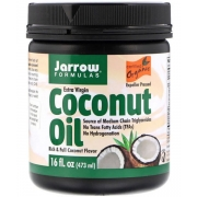 Кокосове масло Jarrow Formulas холодного віджиму органічне 473 мл