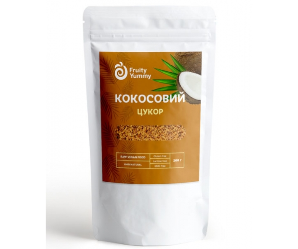 Кокосовый сахар Fruity Yummy 200 г