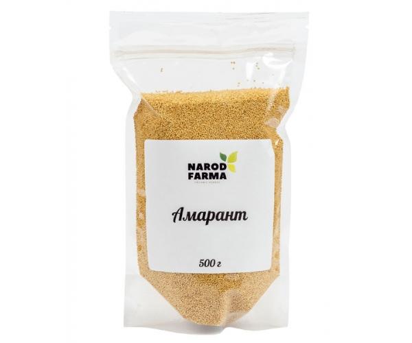 Амарант семена NarodFarma 500 г