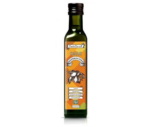 Абрикосовых косточек масло Масломания 250 мл (4820111020218)
