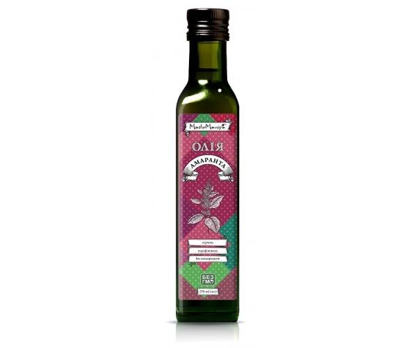 Амарантовое масло Масломания 250 мл (4820115010208)