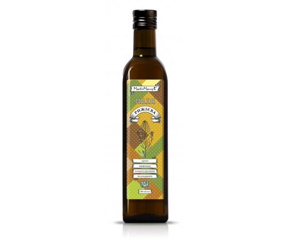 Рыжиковое масло Масломания 250 мл (4820113010200)