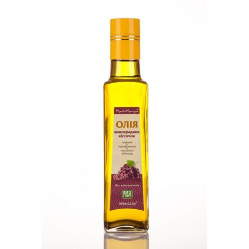 Масло из виноградных косточек Maslomaniya 200 мл, 500 мл