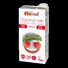 Растительное молоко Кокосовое без сахара Ecomil 1 л