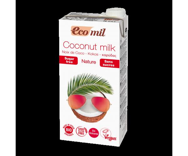 Кокосовое молоко без сахара Ecomil 1 л (8428532121437)