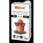Миндальное молоко с семенами чиа без сахара Ecomil 1 л