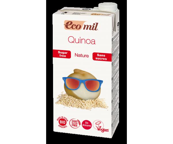 Из Киноа молоко с сиропом агавы без сахара  Ecomil 1 л (8428532210063)