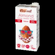 Растительное молоко Миндальное без сахара Ecomil 1 л