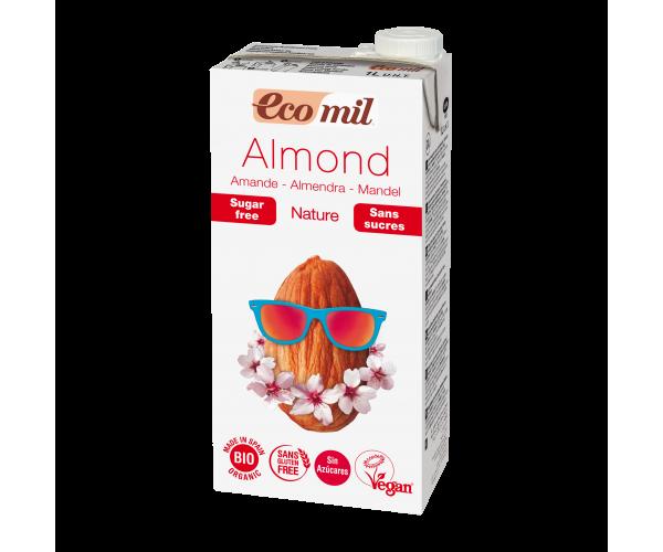 Миндальное молоко без сахара Ecomil 1 л (8428532230061)