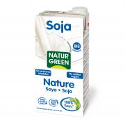 Соевое молоко без сахара NaturGreen 1 л (8437002932909)