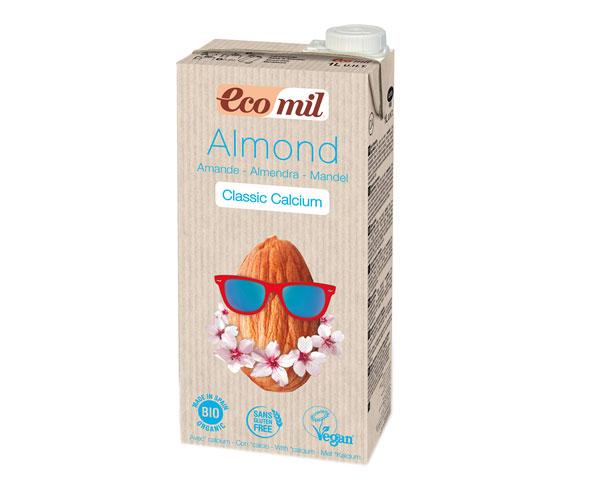 Миндальное молоко с кальцием Ecomil 1 л (8428532230191)