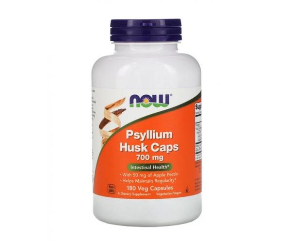 Псиллиум Now Foods порошок оболочки семян подорожника 700 мг в капсулах 180 шт