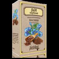 Шрот льна - мука семян льна - измельченные семена льна 100 гр