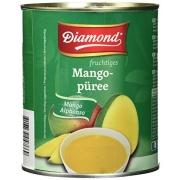 Пюре из манго Alphonso без сахара Diamond 850 г