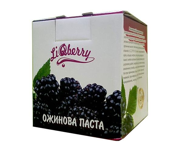 Ежевичная паста LiQberry 550 мл