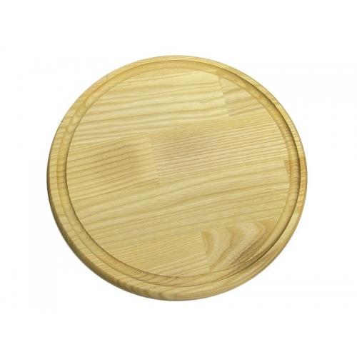 Доска деревянная для пиццы диаметр 38 см