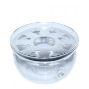 Подставка-подогреватель для заварочного чайника 120 х 70 мм, стекло