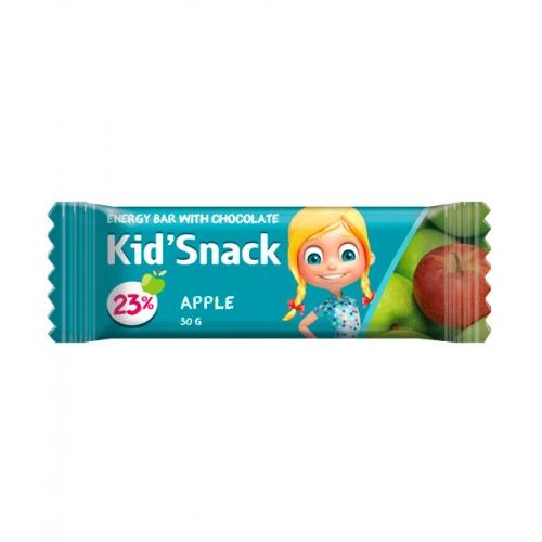 Энергетический батончик Kid'Snack Яблоко 30 г 20 шт