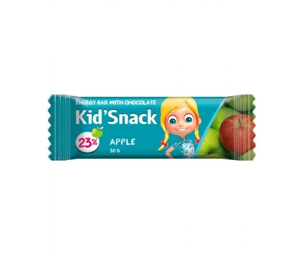 Энергетический батончик Kid'Snack Яблоко 30 г 12 шт