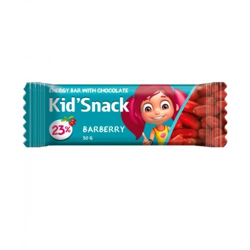 Энергетический батончик Kid'Snack Барбарис 30 г 20 шт
