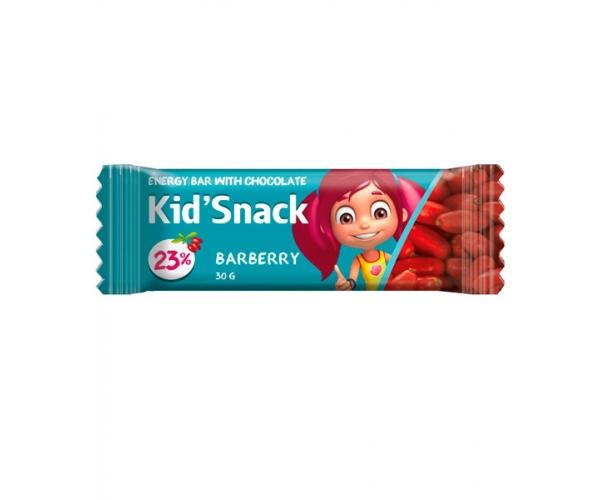 Энергетический батончик Kid'Snack Барбарис 30 г 12 шт