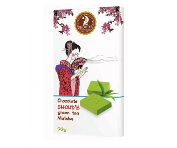 Шоколад SHOUD'E зелёный чай Matcha 90 г
