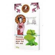 Шоколад SHOUD'E зелёный чай Matcha и мята 90 г