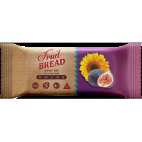 Енергетичний батончик Fruit Bread Інжир-соняшник 60 г 12 шт