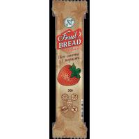 Энергетический батончик Fruit Bread Клубника 30 г 20 шт