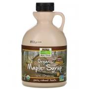 Кленовый сироп Now Foods органический класса А, темного цвета 946 мл