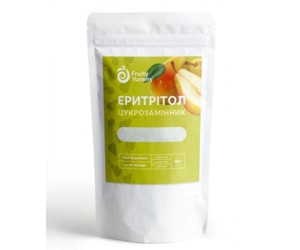 Эритритол Fruity Yummy Заменитель сахара 200 г