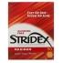 Салфетки Stridex одно шаговое средство от угрей 90 мягких салфеток