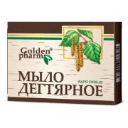 Дегтярное мыло твердое Golden Pharm 70 г