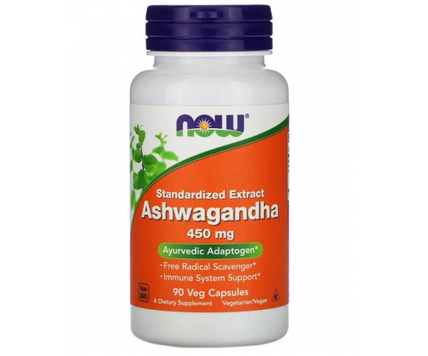Ашваганда Now Foods 450 мг 90 капсул