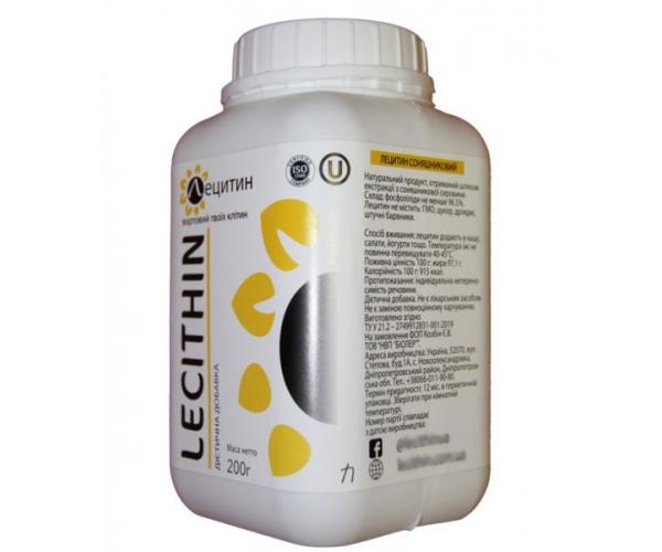 Лецитин подсолнечный Биолер 200 г