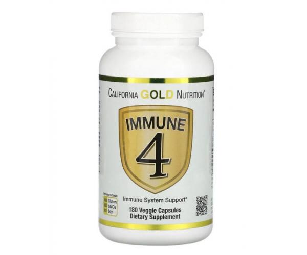 Витаминно-минеральный комплекс California Gold Nutrition Immune 4 180 капсул