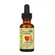 Витамин D3 для детей ChildLife 500 МЕ вкус натуральных ягод 30 мл