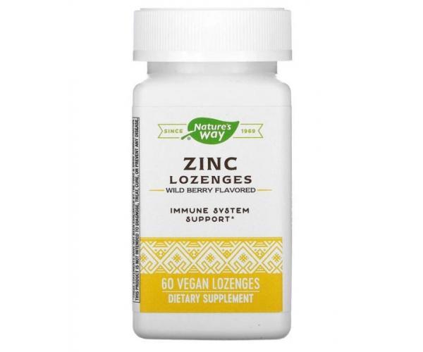 Цинк цитрат Nature's Way 23 мг 60 леденцов