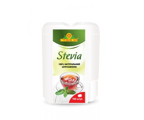 Заменитель сахара Стевиясан в таблетках