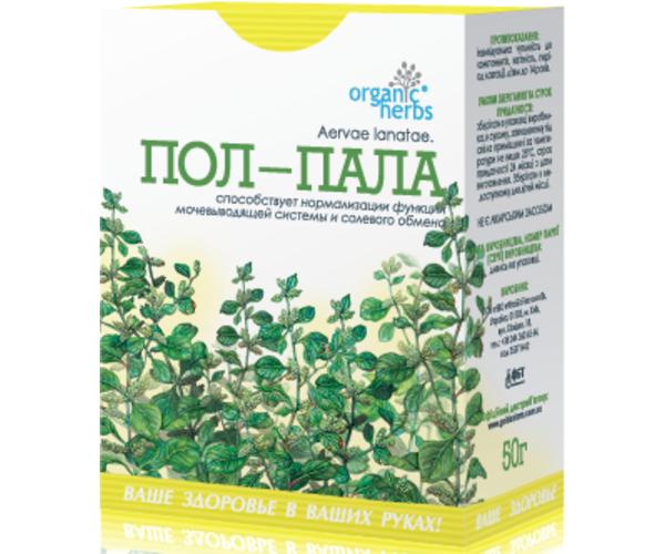 Фиточай Пол-Пала Organic Herbs 50 г