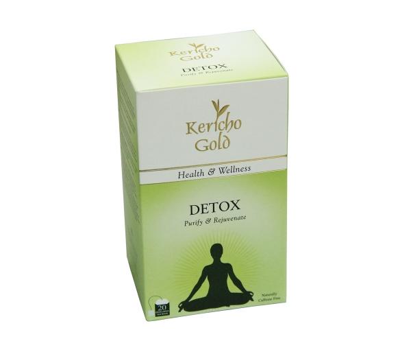 Чай травяной в пакетиках Kericho Gold Detox 20 x 2 г