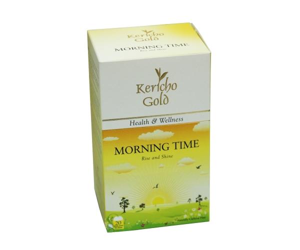 Чай травяной в пакетиках Kericho Gold Morning time 20 x 2 г