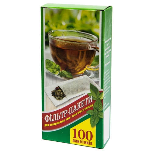 Фільтр пакети для чаю, кави, лікувальних трав