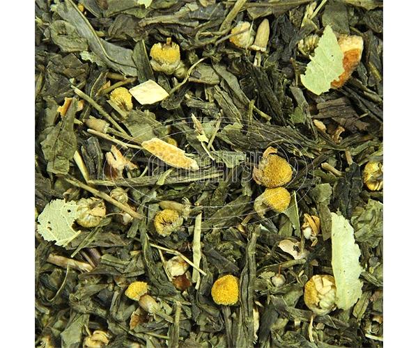 Банный сбор зеленый чай (ромашка, липа, цедра апельсина) 50 г